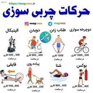 رژیم لاغری شکم ،Sports exercises for fat burning