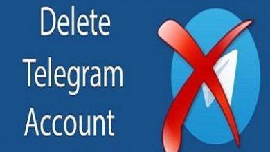 آموزش حذف اکانت تلگرام + ویدیو