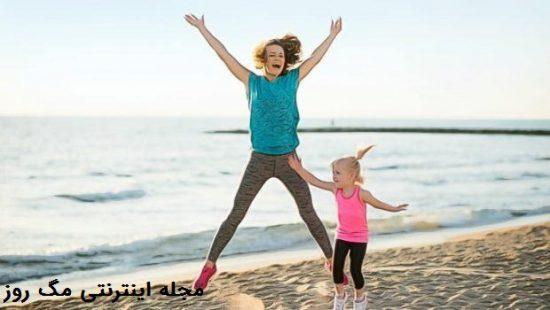 ورزش کردن برای داشتن روز پر انرژی