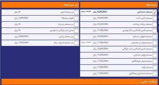 لیست قیمت نرم افزارهای حسابداری شرکت فرداد، یکی بهترین و پرکاربردترین نرم افزار حسابداری
