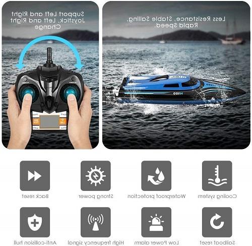 بهترین قایق کنترل از راه دور با قدرت چرخش زیاد : SZJJX RC Boat 2.4GHz +بهترین قایق های کنترل از راه دور ارزان +از کجا بهترین قایق های کنترل از راه دوره را بخرم + قیمت قایق کنترلی+ خرید قایق کنترلی سایما + کشتی کنترلی