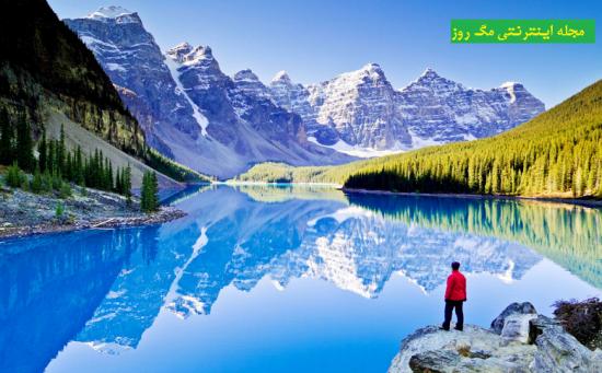 5- پارک ملی بنف در کانادا برای سفر وگردشگری سفر و گردشگری در زمستان