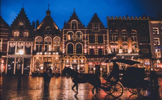 9- شهر بروژ در بلژیک برای سفر و گردشگری، سفر و گردشگری در زمستان