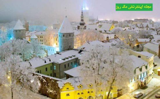 انتخاب تالین شهری تاریخی در استونی برای سفر و گردشگری-سفر و گردشگری در زمستان