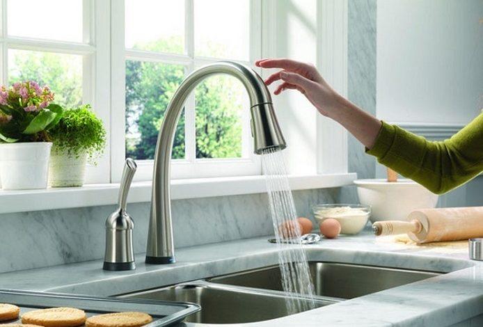 لیست بهترین شیرآلات آشپزخانه بدون لمس - لوازم خانگی - مگ روز