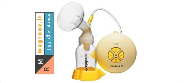 شیردوش برقی مدلا مدل مینی الکتریک سویینگ | خرید بهترین شیردوش برقی و دستی