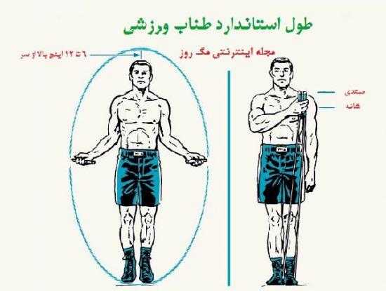 آموزش تنظیم طول طناب ورزشی و خرید طناب ورزشی