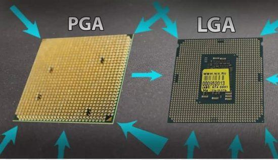 انواع مختلف سوکتهای پردازنده در راهنمای خرید مادربرد گیمینگ