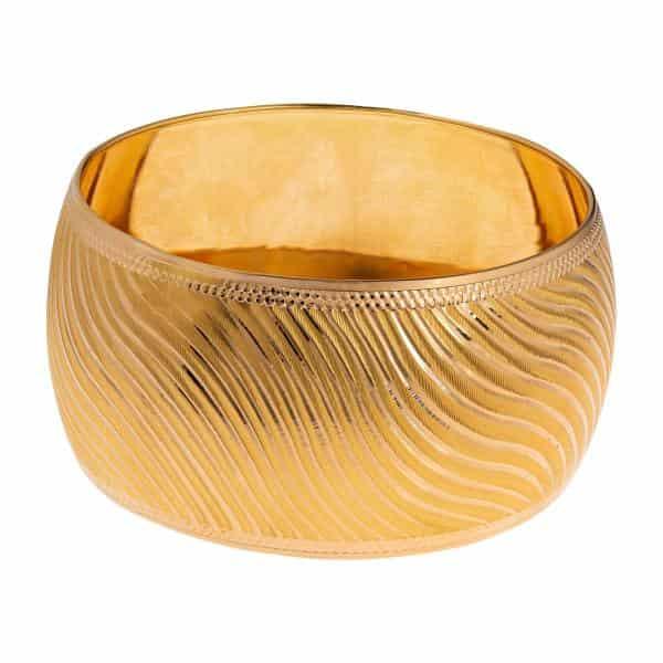 النگو طلا 18 عیار زنانه گالری یار طلا کد AL12-G-3