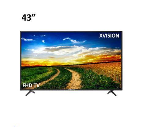تلویزیون ال ای دی ایکس ویژن مدل 43XK580 سایز 43 اینچ