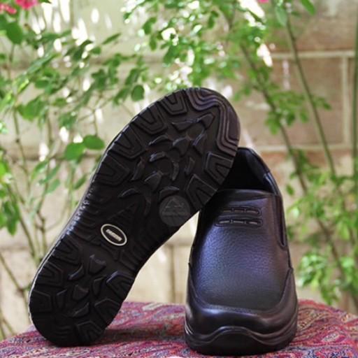 خرید کفش مردانه چرم فرزین مدل فورکس