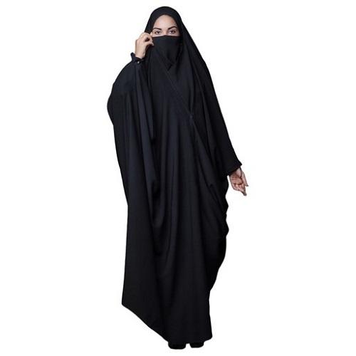 چادر بیروتی حریرالاسود کره ای برند حجاب فاطمی