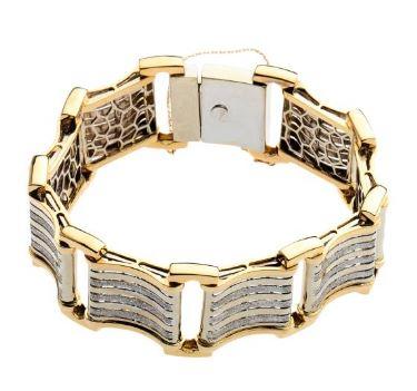 دستبند طلا 18 زنانه مدل T16763