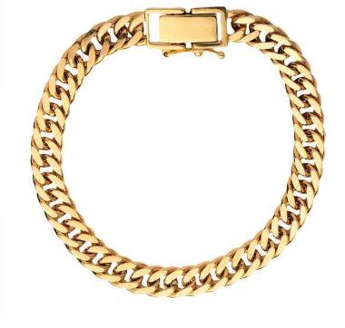 دستبند طلا جدید 18 عیار زنانه مدل T16761