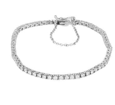 دستبند طلا 18 عیار زنانه کد 2115